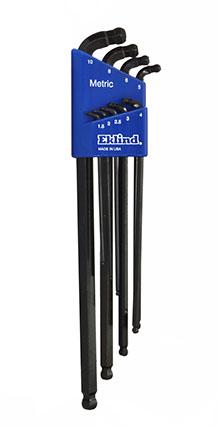Eklind 10912 12 Piece T8-T60//Long Torx L-Key Set